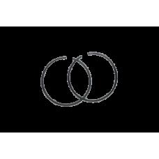 Кольцо поршневое HUS-142 (d=40мм)