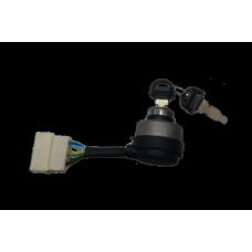 Замки зажигания для генератора в комплекте с ключом: A - 5 фишек, шт