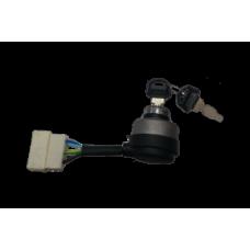 Замки зажигания для генератора в комплекте с ключом: B - 6 фишек, шт