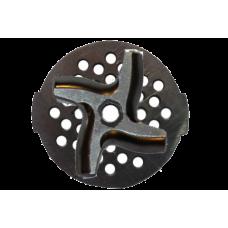 Набор для мясорубок решетка+нож Мулинекс 6ти-гранный