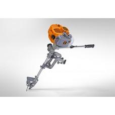 Мотор лодочный CARVER MHT-3.8S (3,8лс, 62 куб.см.,винт мет.3-х лоп., положение реверса, Easy-start